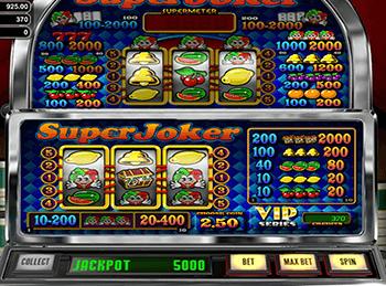 Super Joker Vip в казино Vulcan VIP