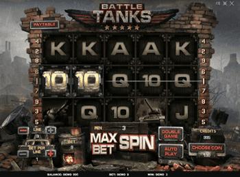 Battle Tanks в Вип Вулкан