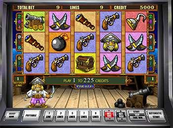 Автомат Pirate в казино Vulcan Vip